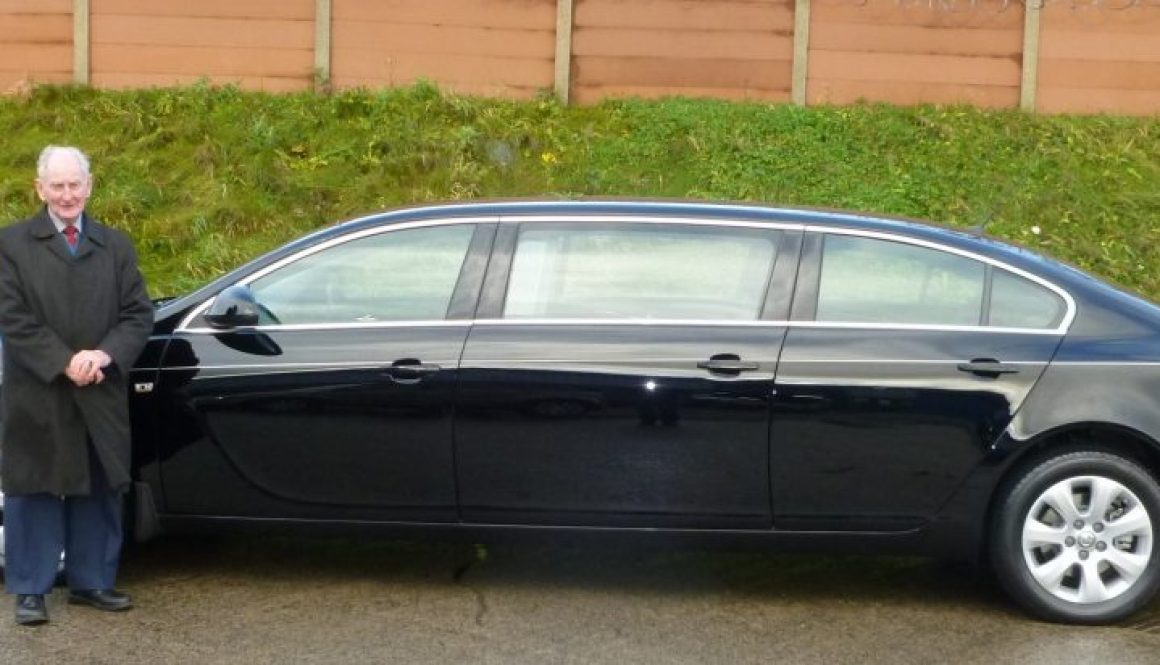 New Vauxhall Insignia Limousine delivered to Box Bros Ltd