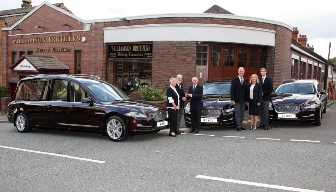 6th New Jaguar fleet for Williamson Brothers